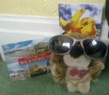 Summer Bournemouth postcard